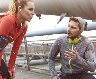 Qual a melhor forma de controlar a respiração na corrida?
