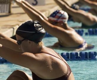 Como realizar uma competição de natação