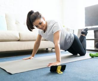 5 aplicativos para fazer exercício em casa