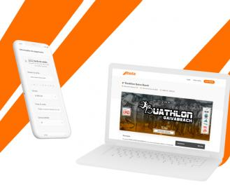 Sistema de inscrição online e gratuita da Atletis