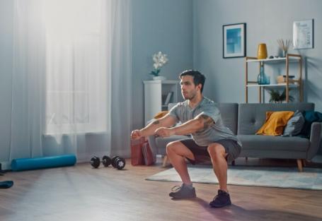 10 exercícios para fazer em casa